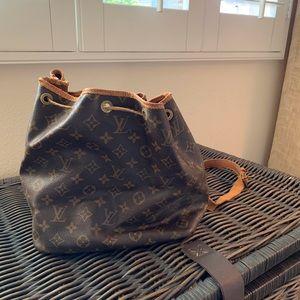 Louis Vuitton bucket style bag